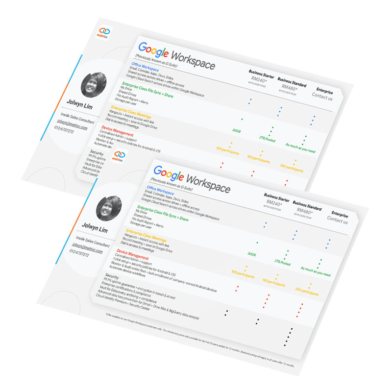 Google Workspace Brochure