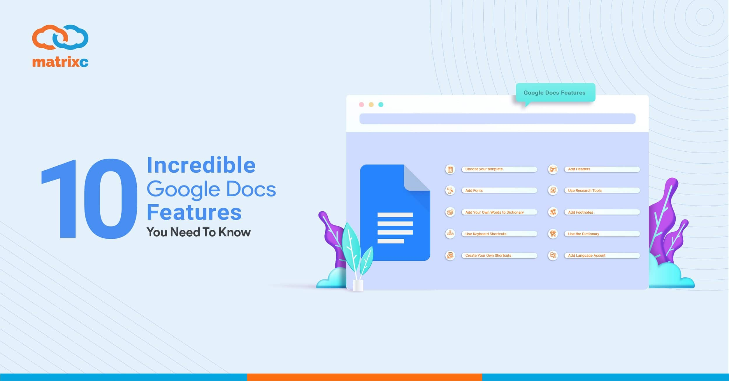 10 Incredible Google Docs Features